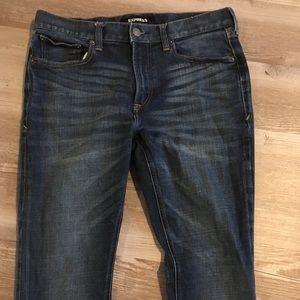 Great Express stretch skinny 34x32 denim jeans